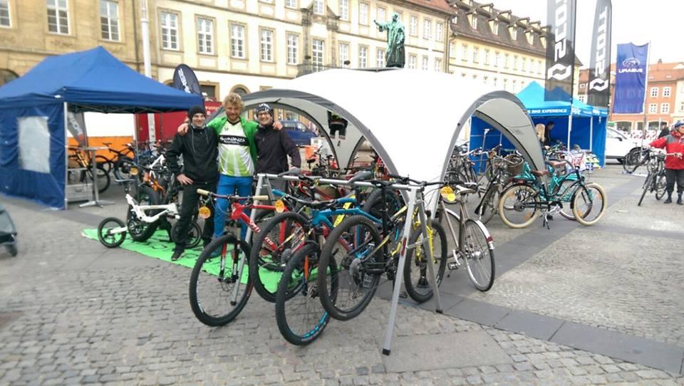 Bambergs Rad-Messe am Samstag auf dem Maxplatz ein voller Erfolg!